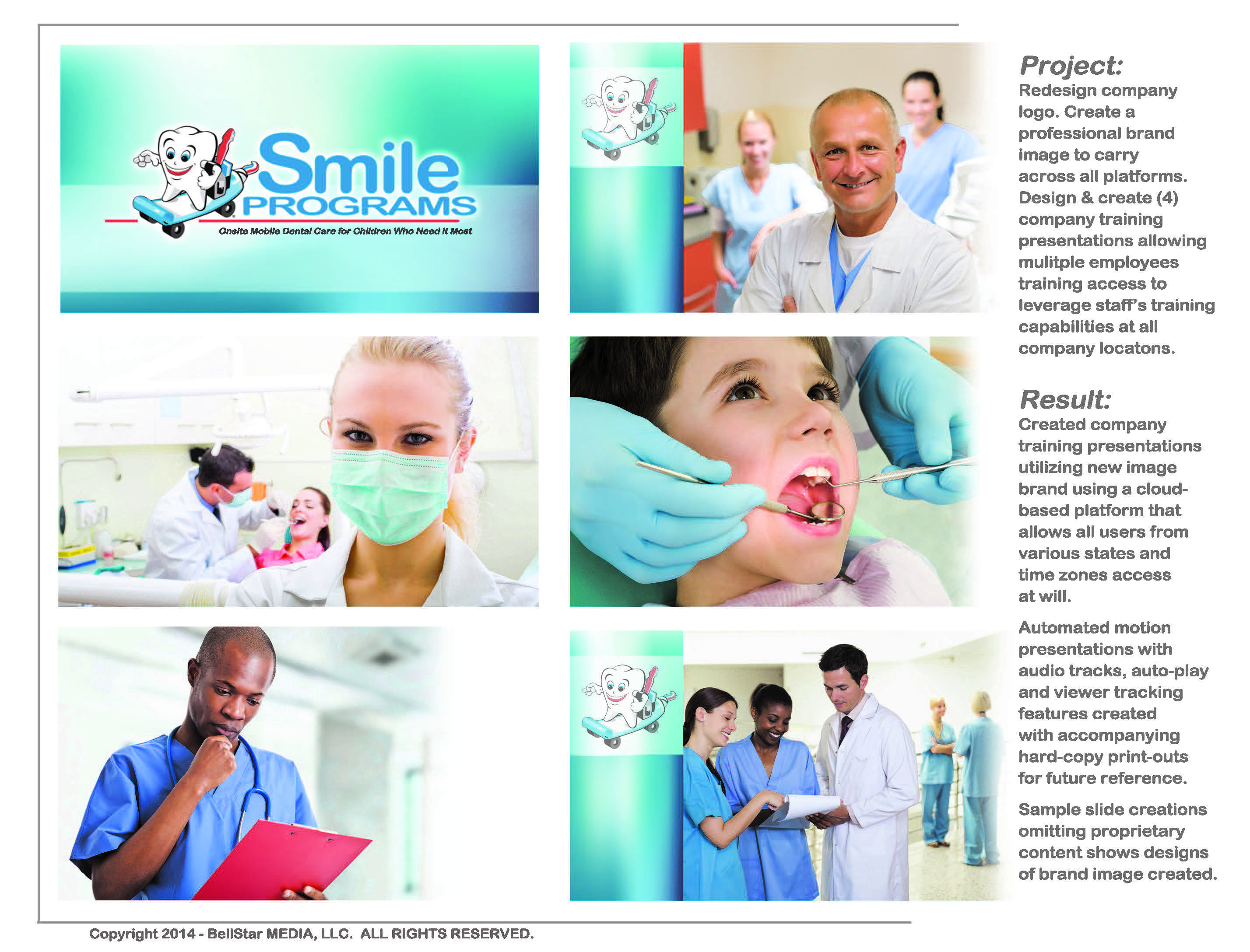 Smile Program presentation slides