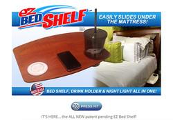 EZ BED SHELF website