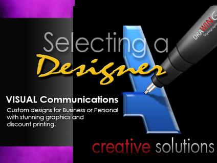 Selecting A Designer