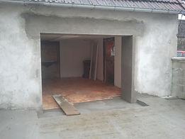 ouverture de porte dans mur porteur
