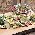 Салат с пастой из тунца