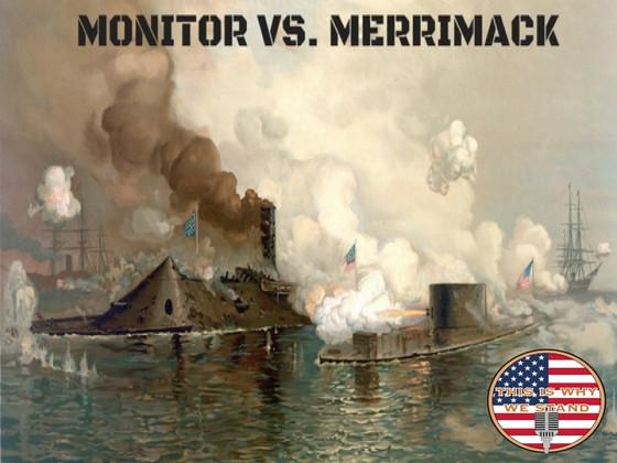 Battle of Hampton Roads: Monitor vs. Merrimack