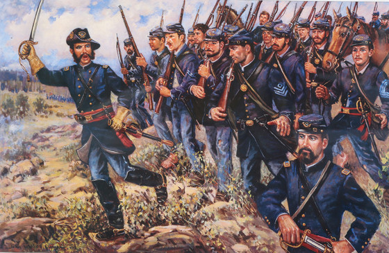 """Paddy"" to the Rescue: Patrick O'Rorke and the 140th New York at Gettysburg"