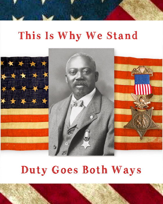 This Is Why We Stand: Sergeant William Carney.