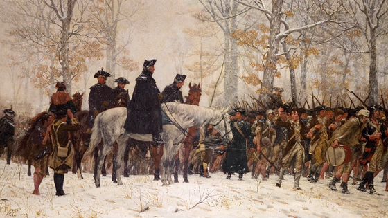 Survival of the Strong: George Washington and the Continental Army at Valley Forge