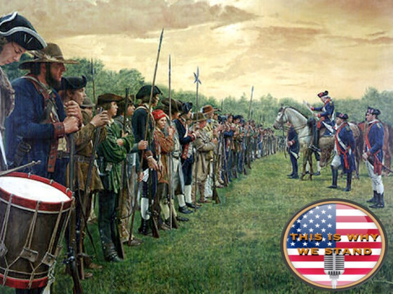 The Declaration of Independence is Read to George Washington's Army