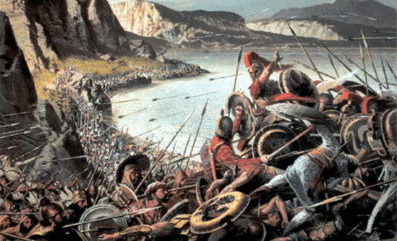 The Virtue of Selflessness: Leonidas and the Spartans at Thermopylae