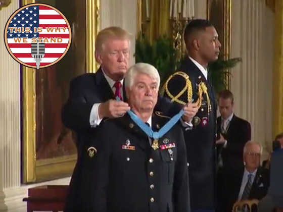 U.S. Army Veteran James C. McCloughan Is Awarded the Medal of Honor