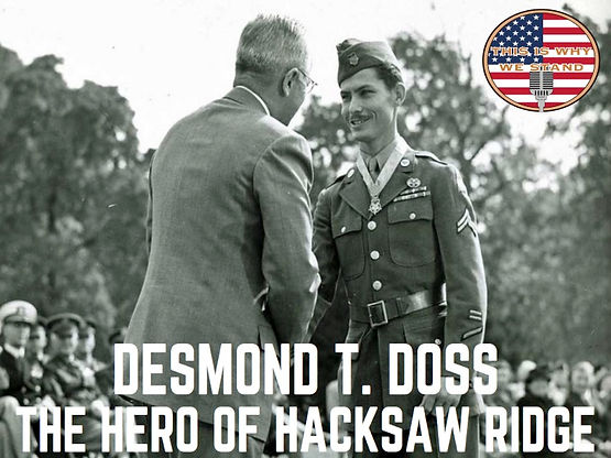 Rapid Fire History Desmond T Doss The Hero Of Hacksaw Ridge