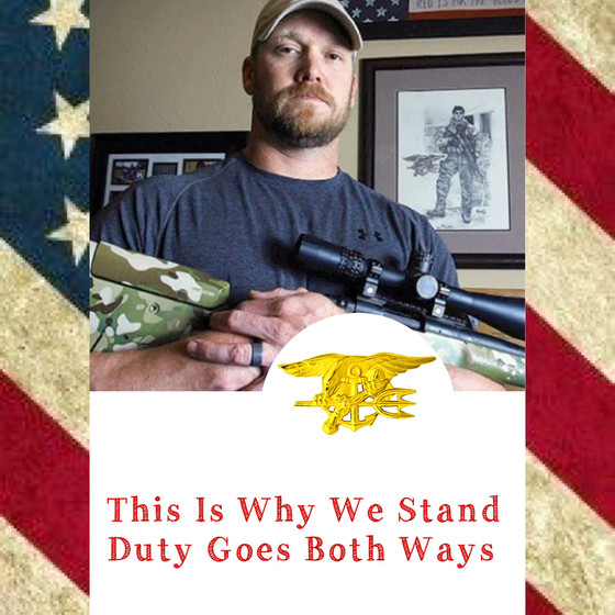 This Is Why We Stand: Remembering Chris Kyle