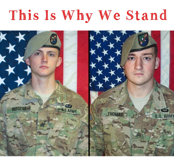 We Remember Sgt. Joshua Rodgers and Sgt. Cameron Thomas