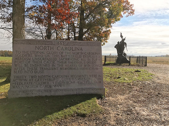 The Sacrifice of North Carolina at the Battle of Gettysburg