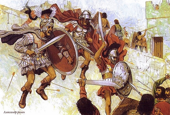 The Path of Bravery: Alexander the Great