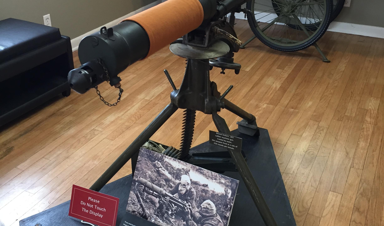 The Vickers machine gun