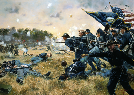 Battle of Gettysburg: Day Two - A Time For Heroes