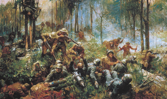 Devil Dogs to the Rescue: The Marines at the Battle of Belleau Wood
