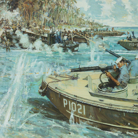 """""""Did they get off?"""" - The Sacrifice of Douglas Munro"""