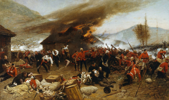 Sea of Spears: The Epic Defense of Rorke's Drift