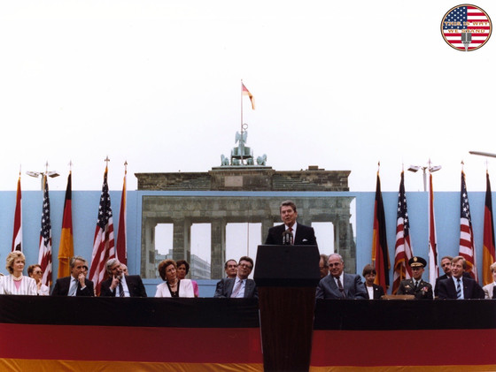 """Tear Down This Wall!"" - President Reagan at the Brandenburg Gate"