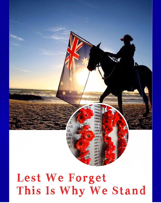 This Is Why We Stand: Anzac Day 2017