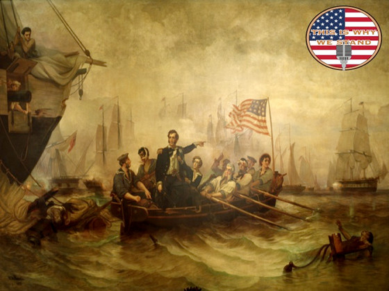 Captain Oliver Hazard Perry Wins the Battle of Lake Erie