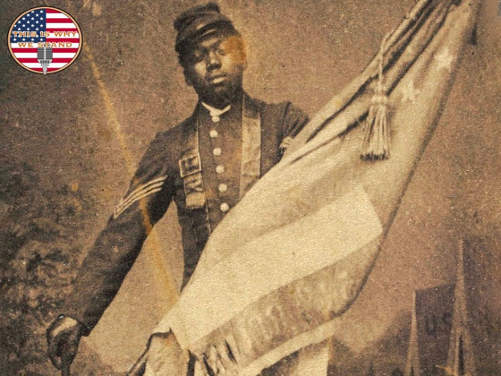 The Old Flag Never Touched the Ground: William Carney at the Battle of Fort Wagner