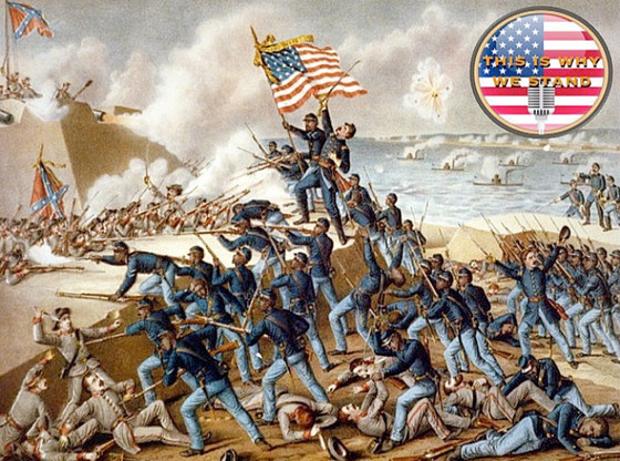 July 18, 1863: Colonel Robert Shaw and the 54th Massachusetts Assault Fort Wagner