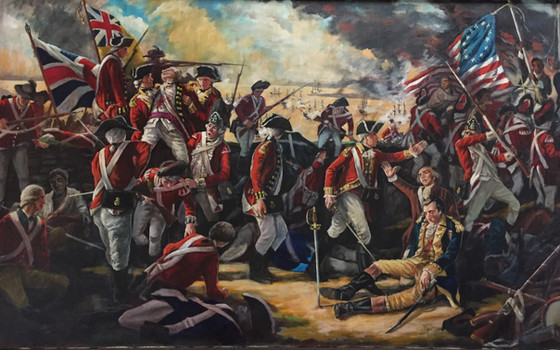 The Battle of Groton Heights