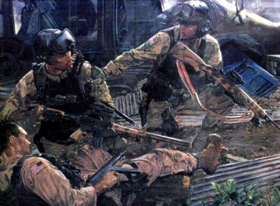 Heroes Under Fire: Gary Gordon, Randall Shughart, and the Battle of Mogadishu