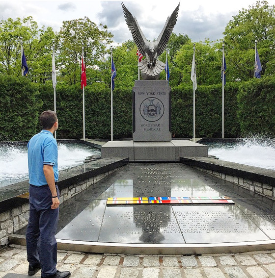 The New York State World War II Memorial