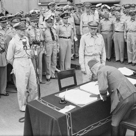 These proceedings are closed: The Surrender of Japan