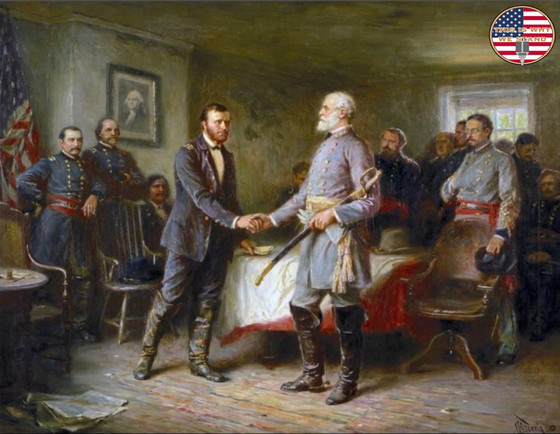Surrender At Appomattox: The Historic Meeting Between Lee and Grant