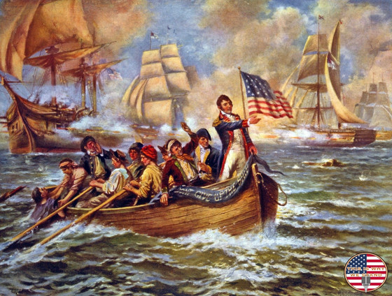Don't Give Up The Ship: Oliver Hazard Perry's Victory at the Battle of Lake Erie
