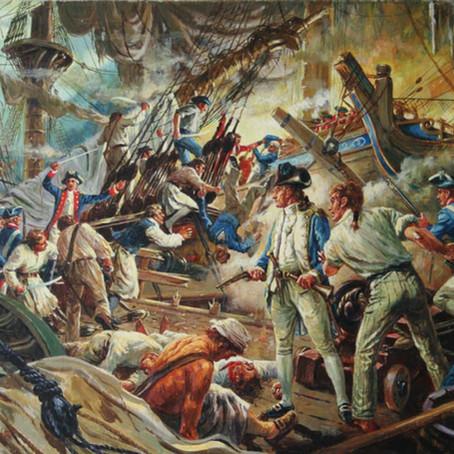 """I have not yet begun to fight!"" - John Paul Jones and the Battle of Flamborough Head"