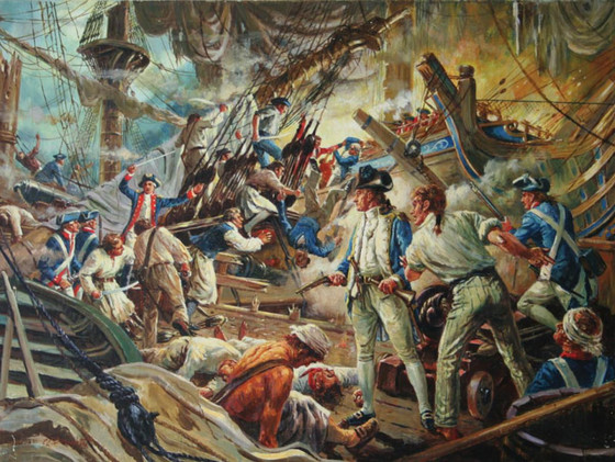 """I have not yet begun to fight!"" - John Paul Jones and the Battle of Flamborough Head"