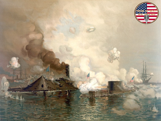When Iron Became King of the Seas: The Battle of the USS Monitor and the CSS Virginia