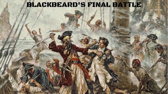 Blackbeard's Final Battle