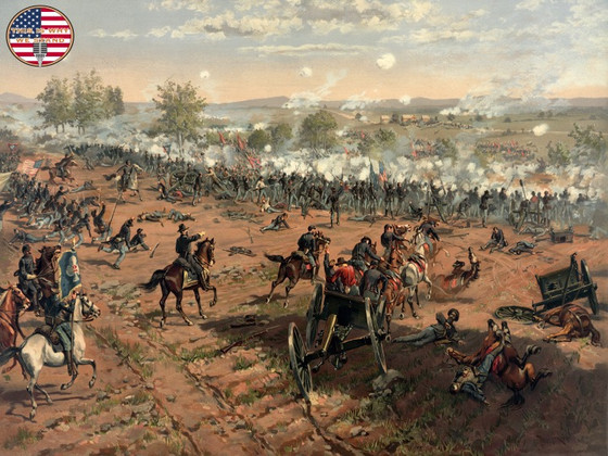 Battle of Gettysburg: Day Three - Triumph and Tragedy