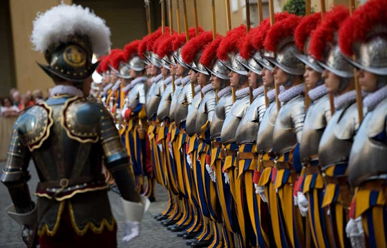 The Stand of the Swiss Guard