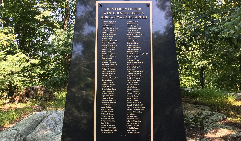 Korean War Casualties Monument