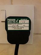 PAT Test PASS Label