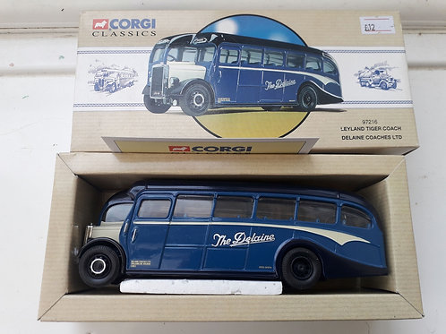 CORGI 97216 LEYLAND TIGER COACH DELAINE COACHES LTD