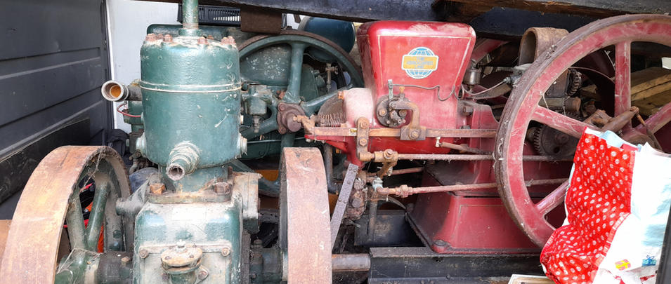 sussex stationary engine barn clearance