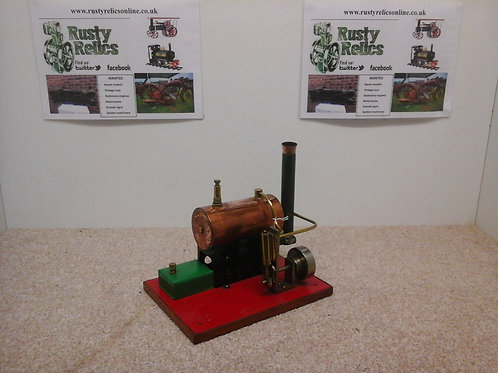Scratchbuilt stationary steam engine