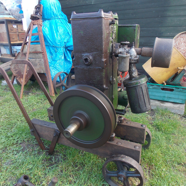 Lister D type spec 26 petrol stationary engine