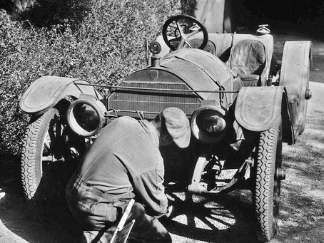 A Dream Discovery – An Untouched 1912 Mercer Raceabout