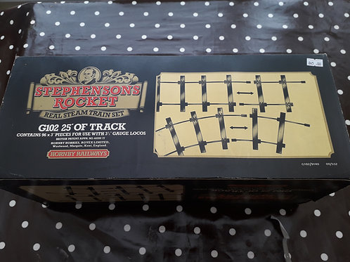 Hornby G102 Stephenson's Rocket 25 feet of track