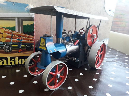 Wilesco D40 Dampftraktor Live Steam Traction Engine Old Smokey