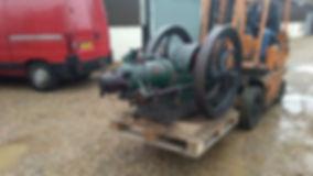 1917 7HP Blackstone Oil engine as found in Norfolk