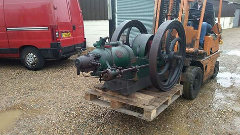 1917 7HP Blackstone Oil engine as found in Norfolk